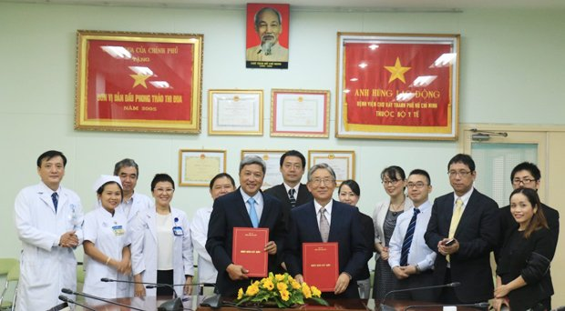 Cho Ray Hospital and Kyoto College of Medical Science (KCMS) - Japan signed bilateral Memorandum of Understanding in the field of imaging diagnosis